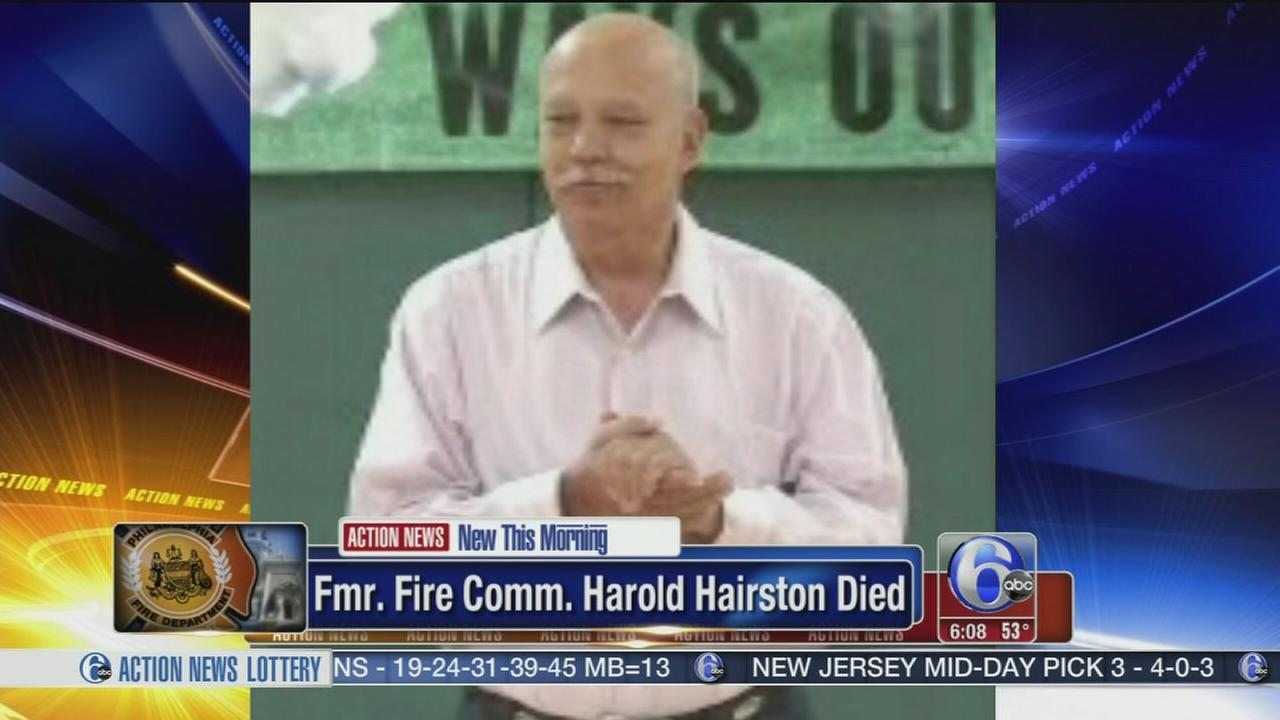 VIDEO: Fmr.  Fire Comm. Harold Hairston dies