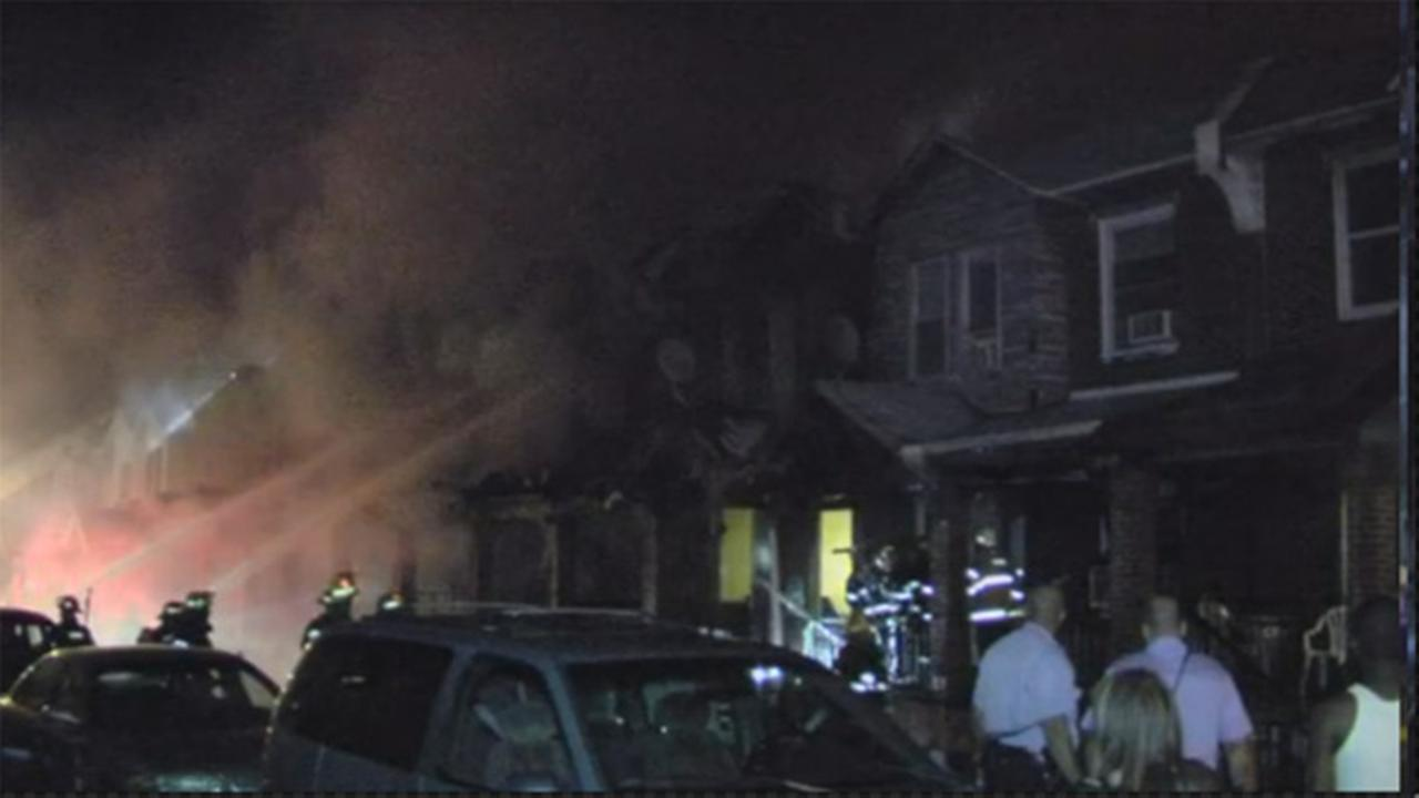 4 children dead, homes destroyed in SW Philly blaze