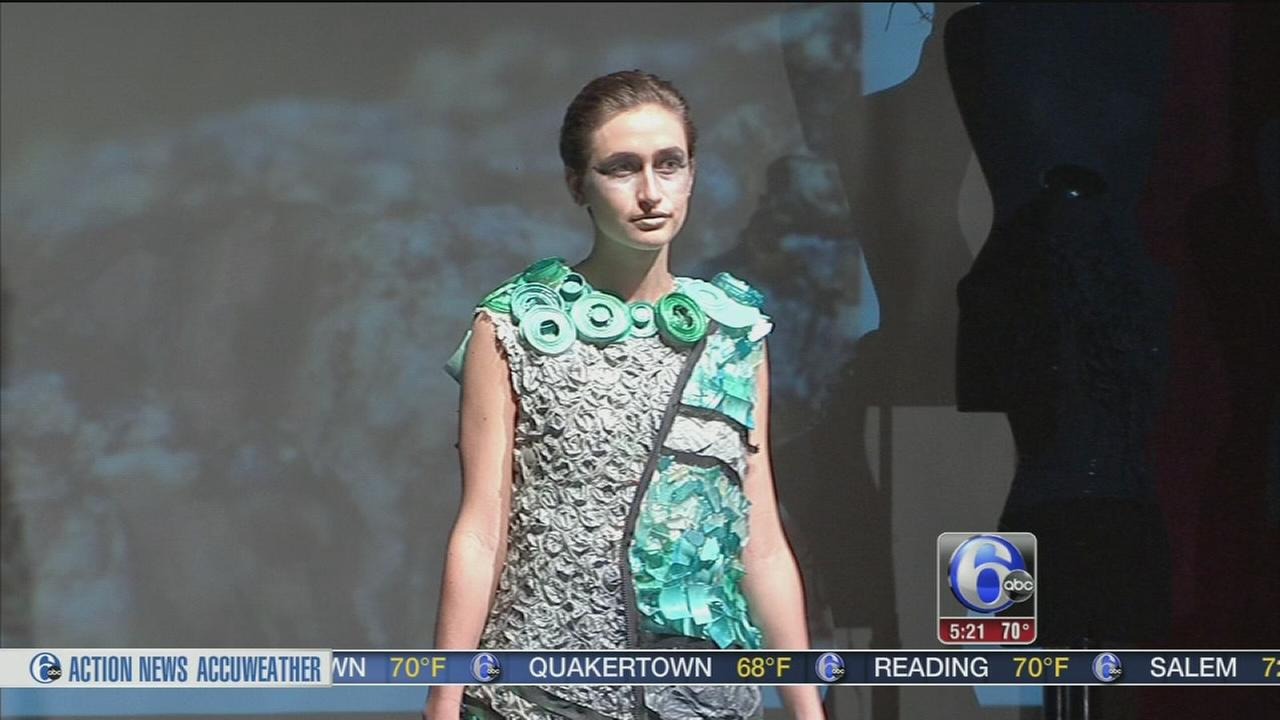 VIDEO: Philadelphia Univ. Design X runway