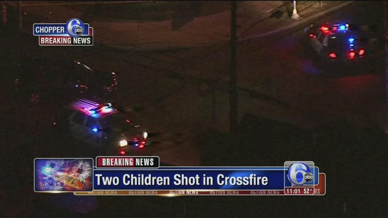 VIDEO: Chester shooting