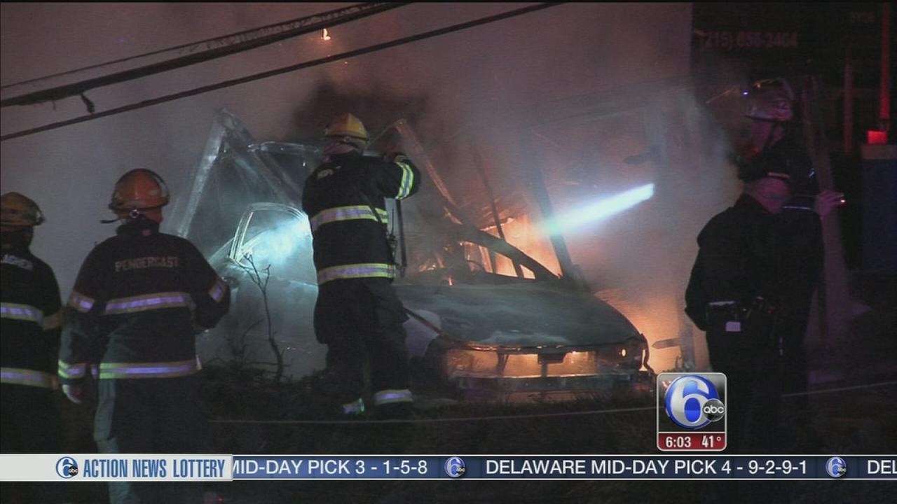 VIDEO: Deadly 2-car collision in Northeast Philadelphia