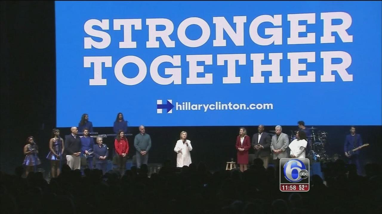 VIDEO: Clinton concert