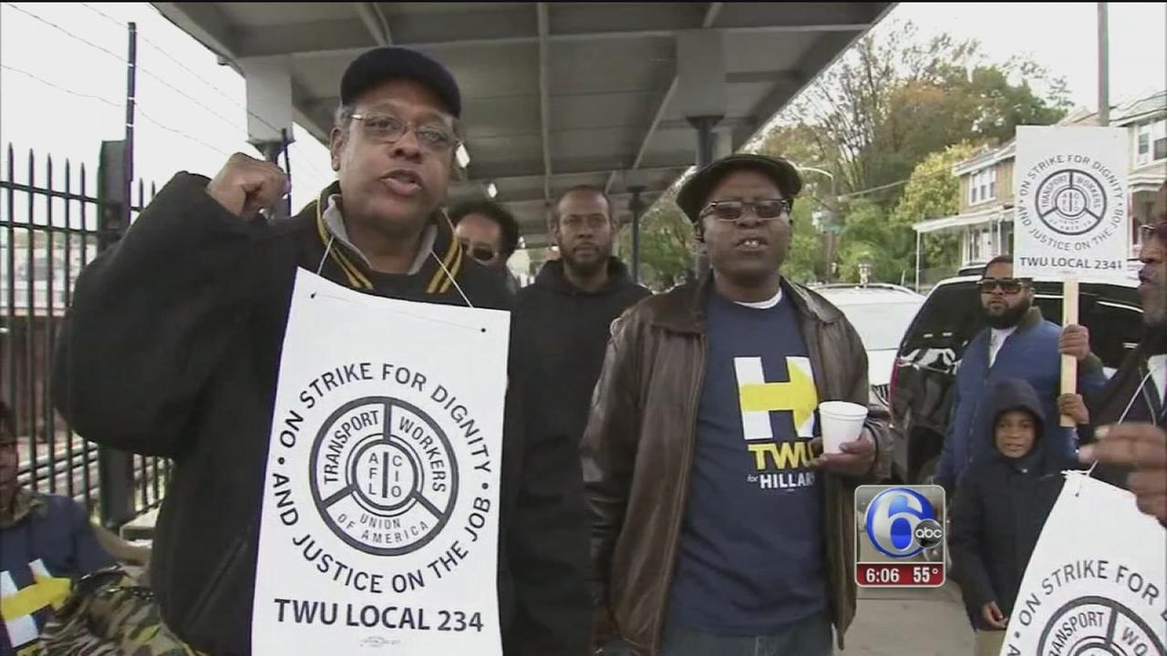 VIDEO: SEPTA strike latest