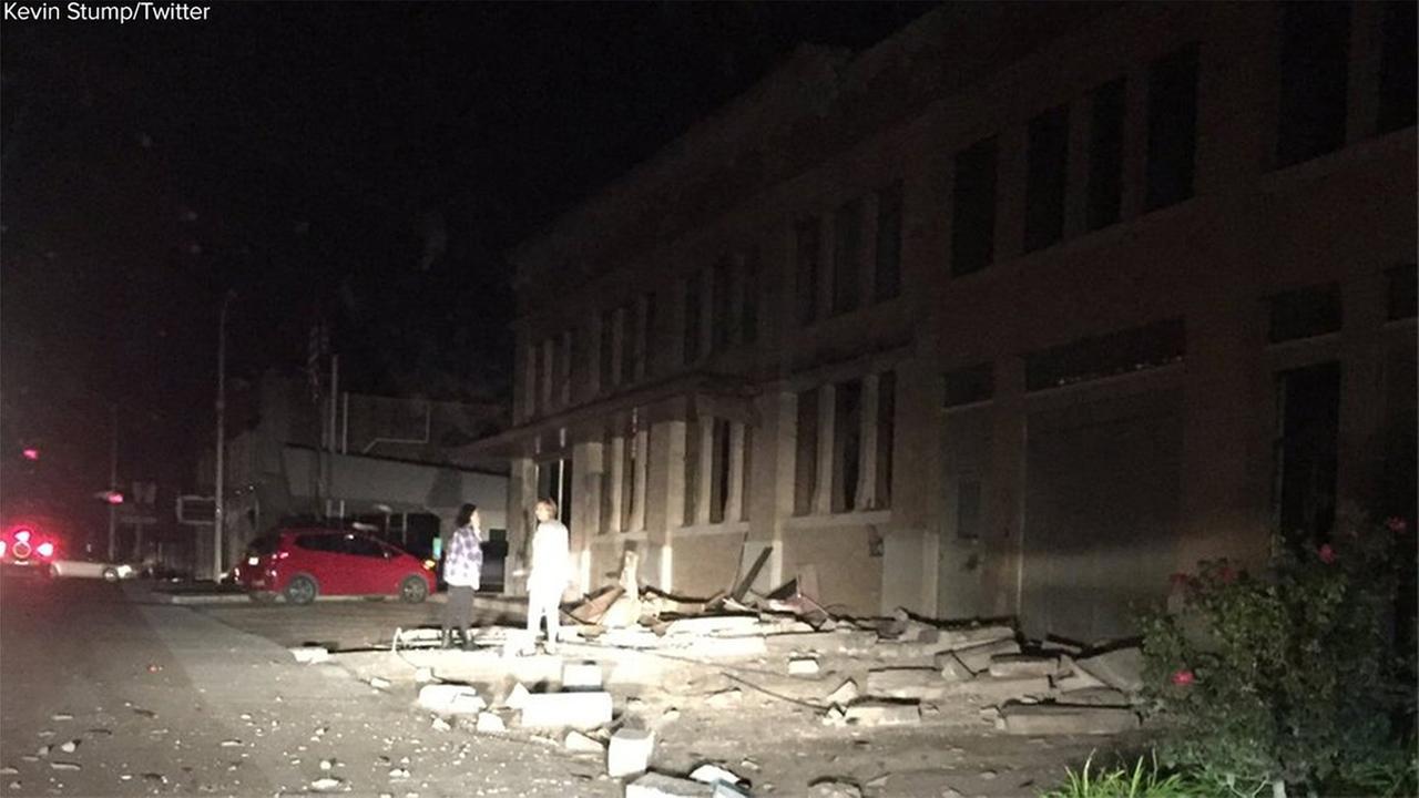 Magnitude 5.0 earthquake shakes central Oklahoma