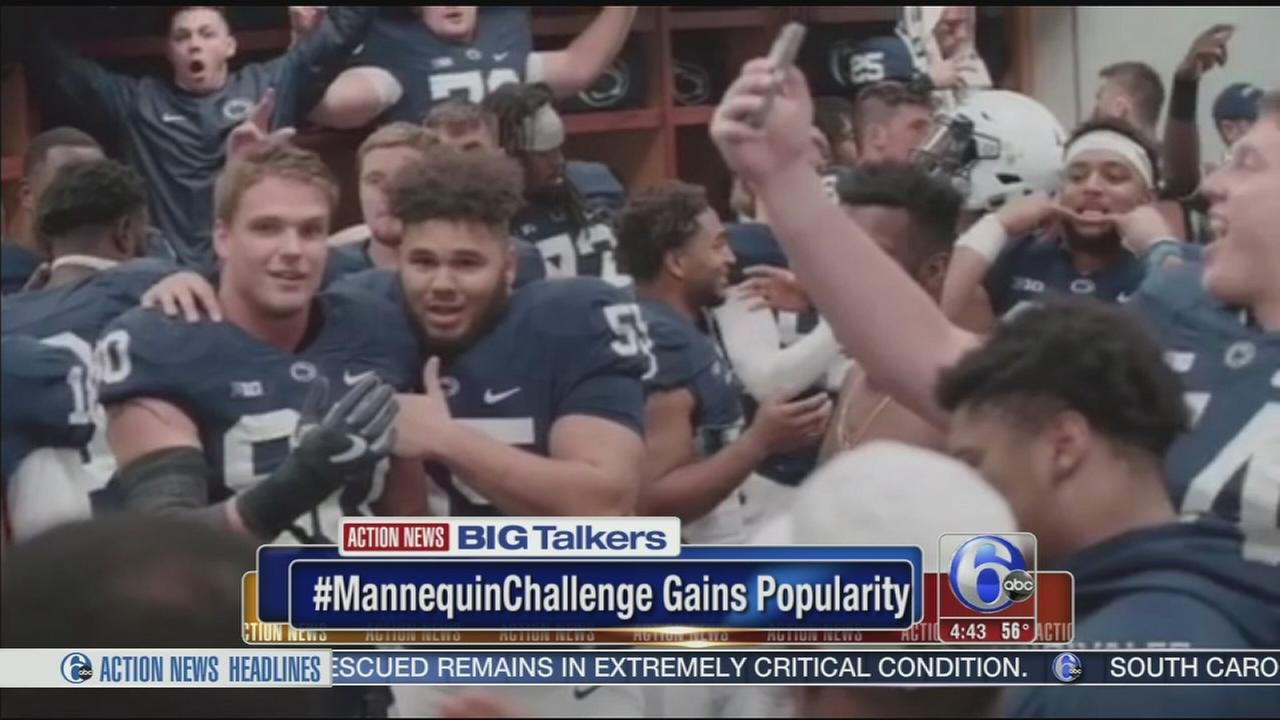 VIDEO: Mannequin Challenge gains popularity