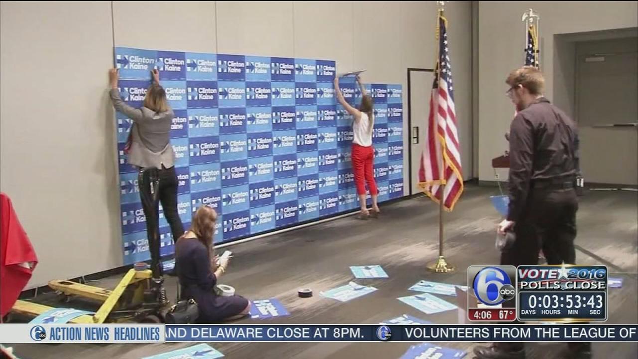 VIDEO: Clinton HQ
