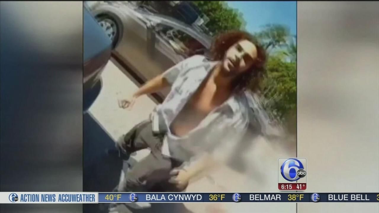 VIDEO: Motorcyclists helmet camera captures road rage attack