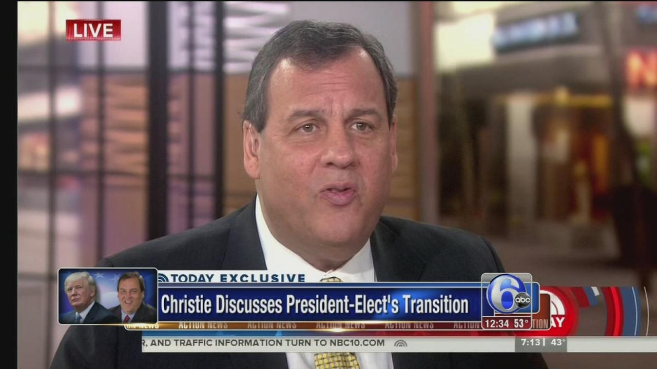 VIDEO: Christie and Trumps transition