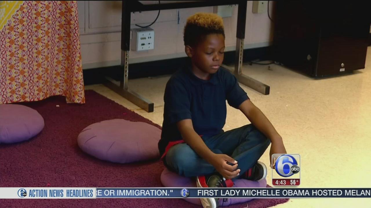 VIDEO: Baltimore school replaces detention with mandatory meditation
