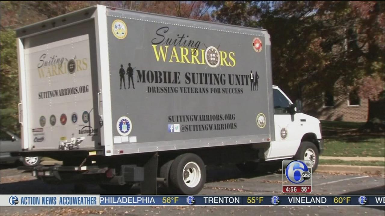 VIDEO: Delaware nonprofit helps military members dress for success