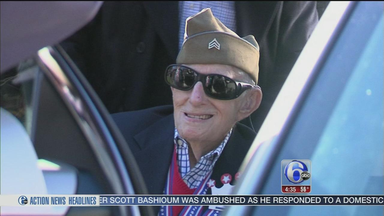108 year old veteran will meet Commander in Chief