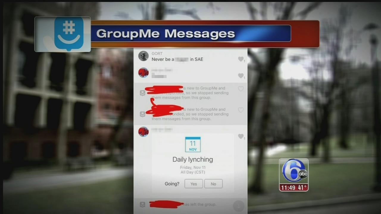 Penn: Man behind racist texts had been offered admission