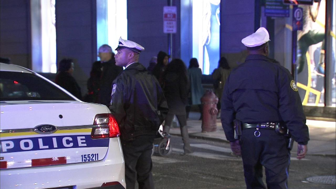November 12, 2016: Six people were hospitalized after what police called a flash mob attack in Center City Philadelphia.