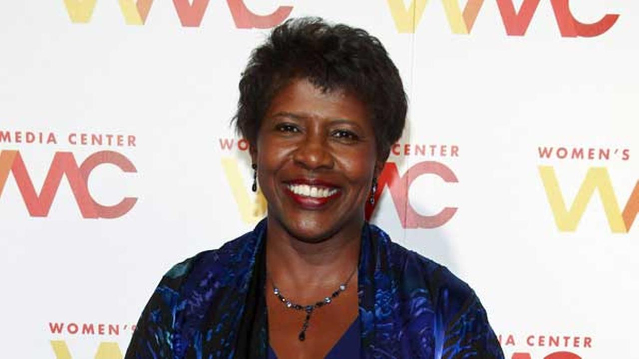 FILE - In this Nov. 5, 2015 file photo, NewsHour co-anchor Gwen Ifill attends The Womens Media Center 2015 Womens Media Awards in New York.