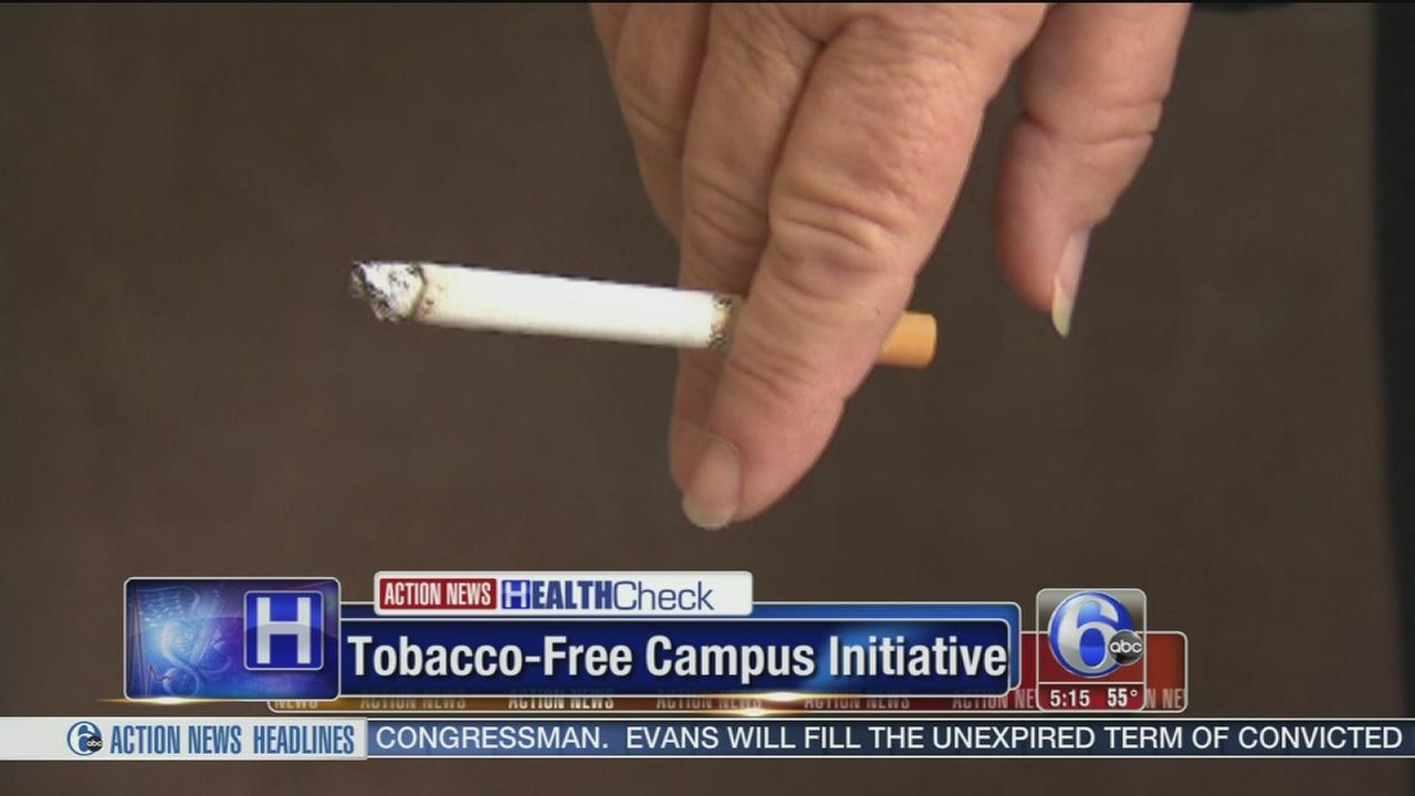 VIDEO: Tobacco free campus initiative grows