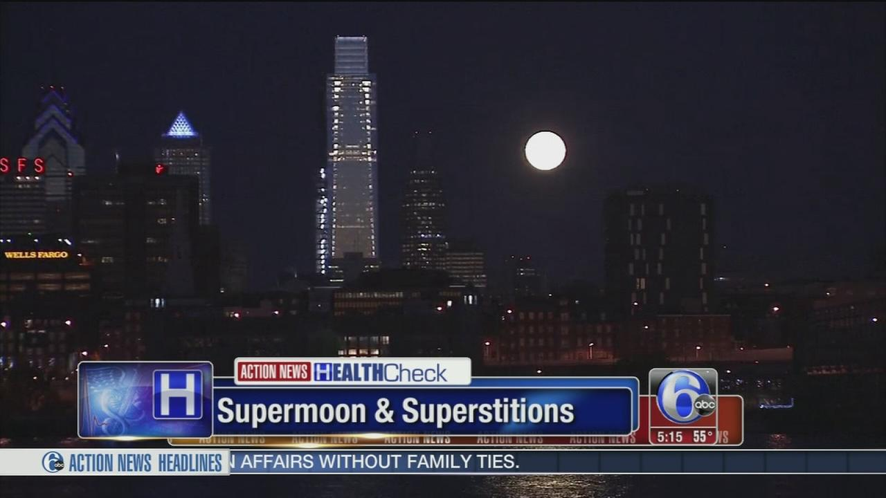 VIDEO: Supermoon and superstitions