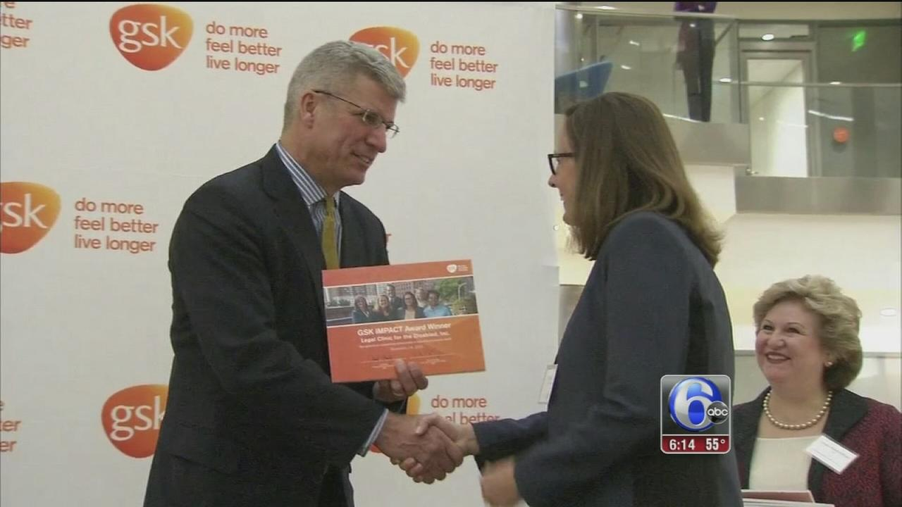 Some local non-profits were honored Monday for contributing to a healthier Philadelphia