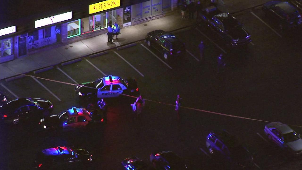 Police were called to a pizza shop in Levittown, Bucks County.
