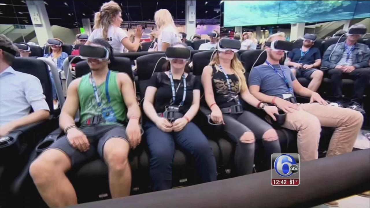 VIDEO: Health concerns over virtual reality headsets