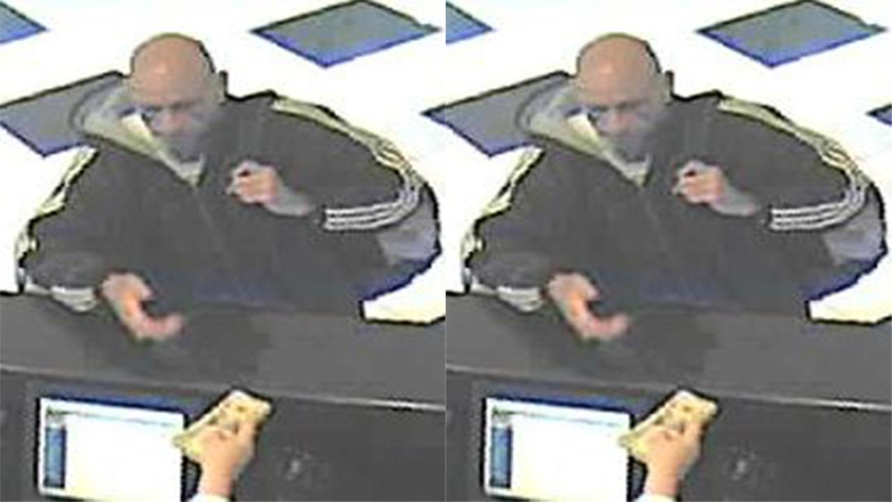 Police, FBI seek wanted man in Center City bank robbery