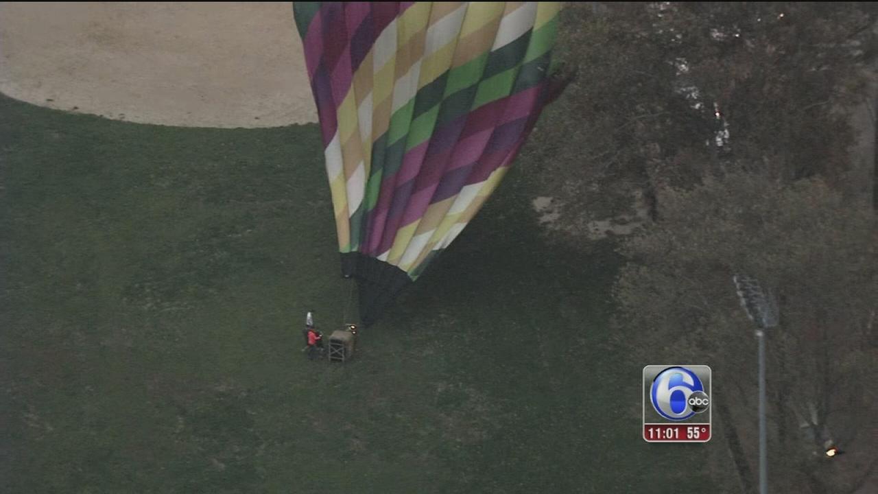VIDEO: Balloon crash