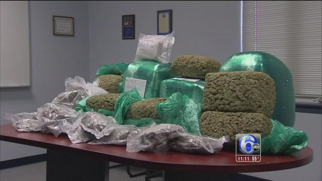 VIDEO: Darby drug bust