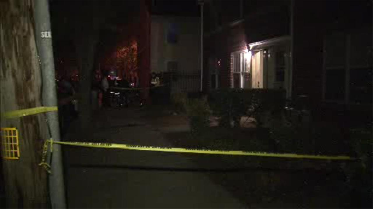 Philadelphia police are investigating two separate stabbings at the same home in the citys Queen Village section.