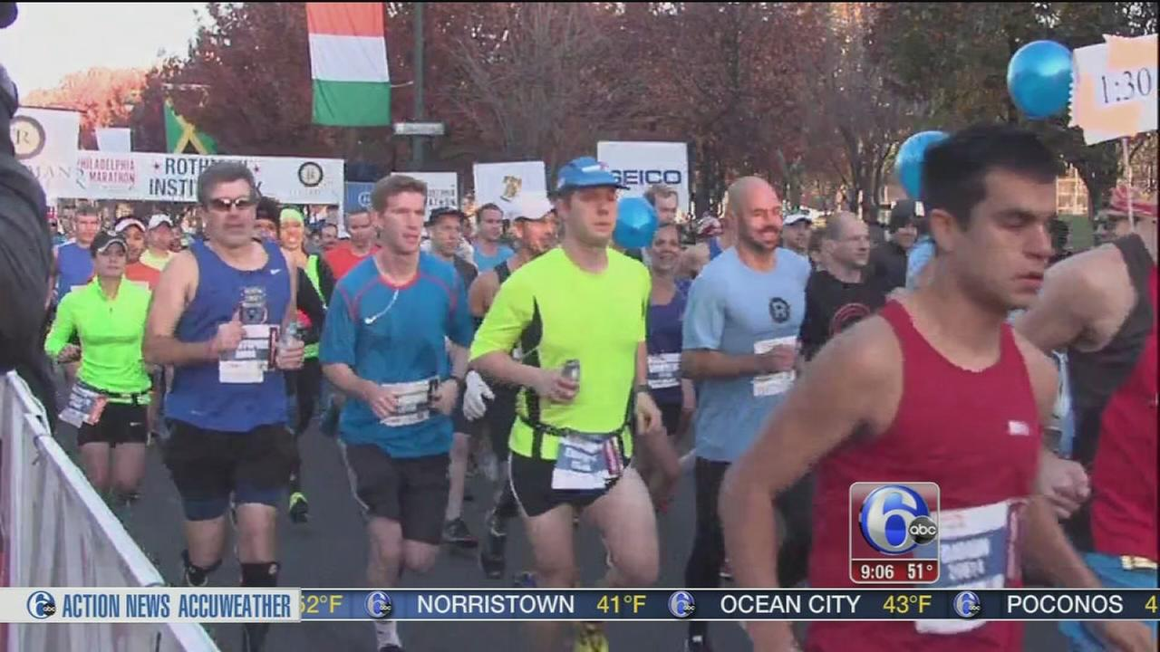 VIDEO: Marathon weekend on The Parkway