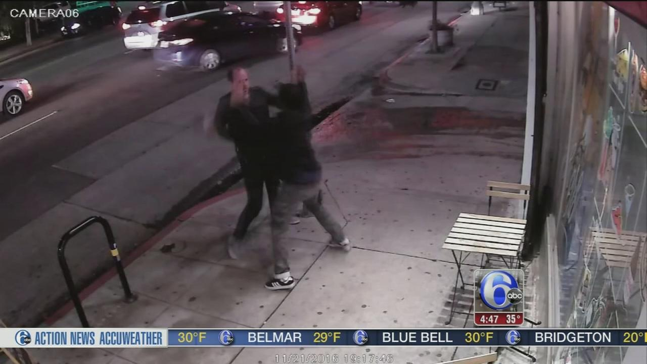 VIDEO: Store owner takes down would-be robber