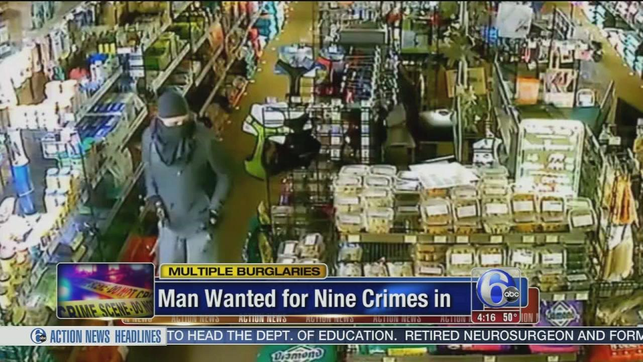 VIDEO: Man wanted for 9 crimes in Grays Ferry