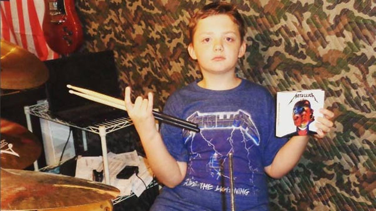 Metallica praises 10-year-old Philadelphia drummer's cover