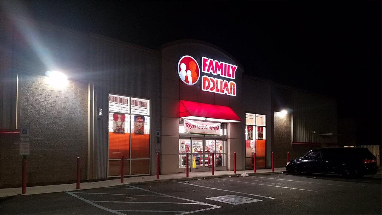 Police are investigating a robbery at a Family Dollar store in North Philadelphia.