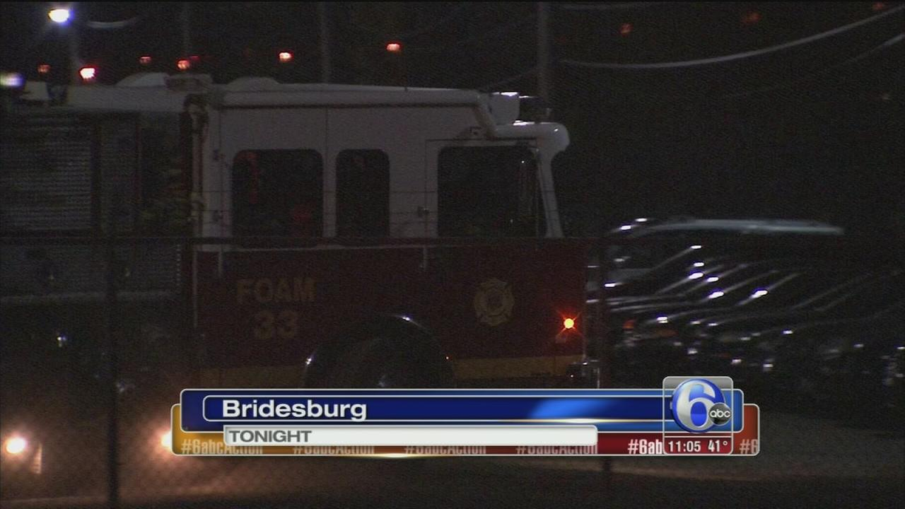 VIDEO: Impound fire