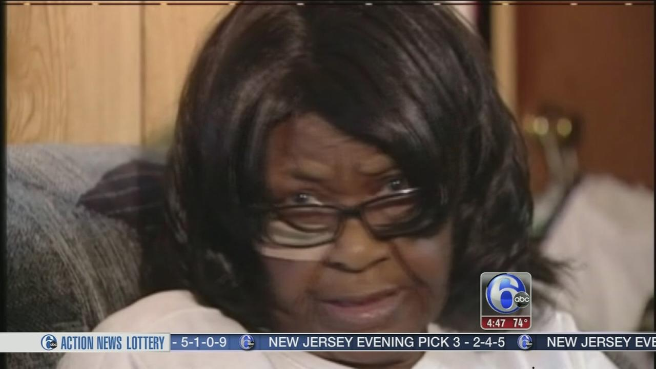VIDEO: Grandmother bashes burglar with frying pan