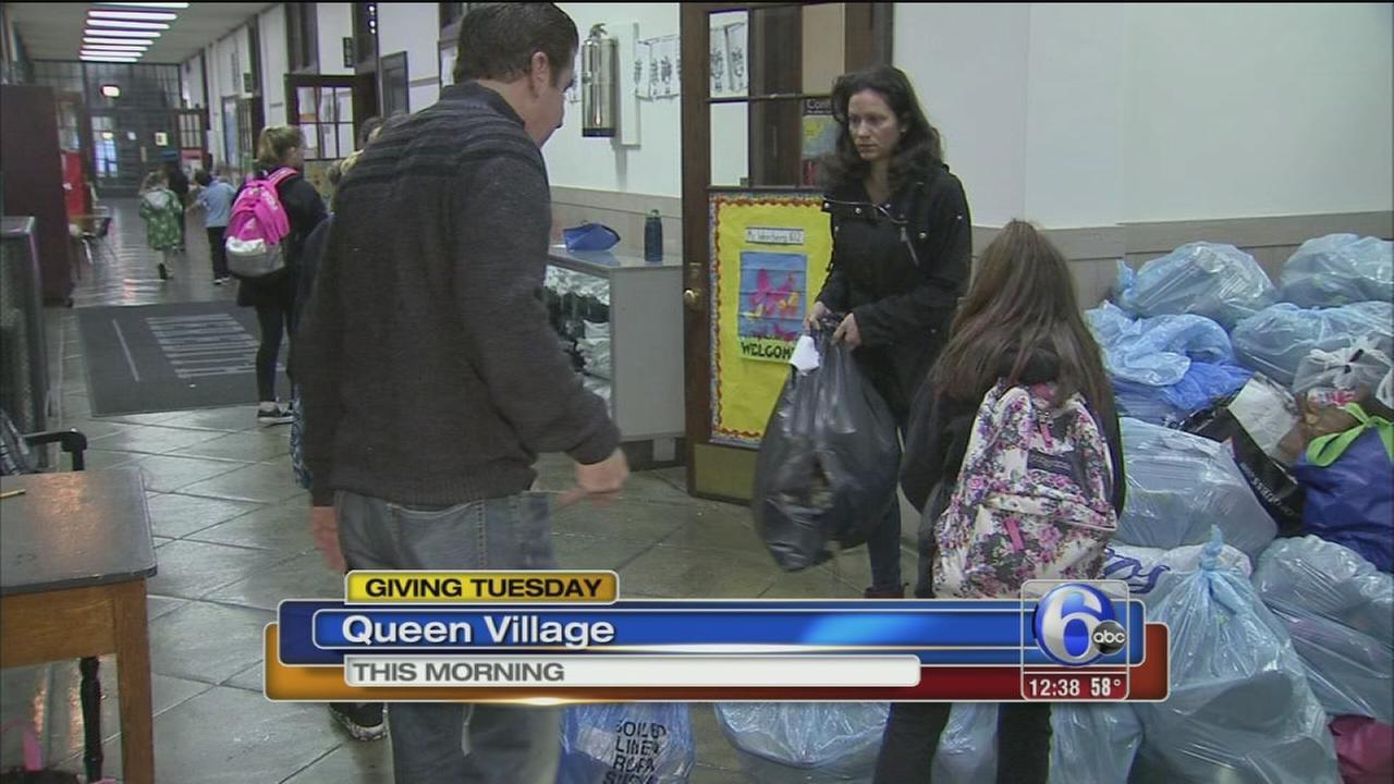 VIDEO: Giving Tuesday in Philadelphia