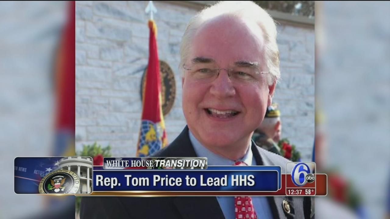 VIDEO: Trump taps Tom Price to lead HHS