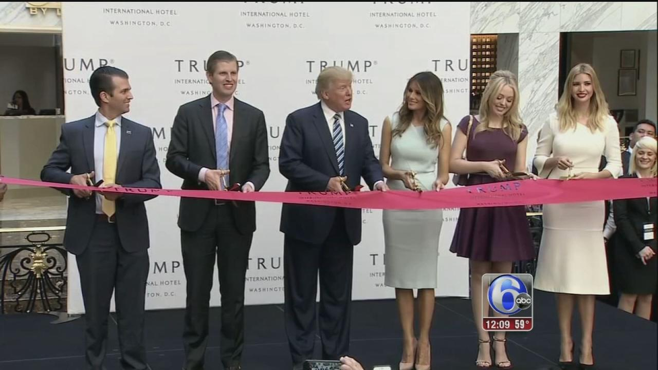 VIDEO: Donald Trump to exit businesses