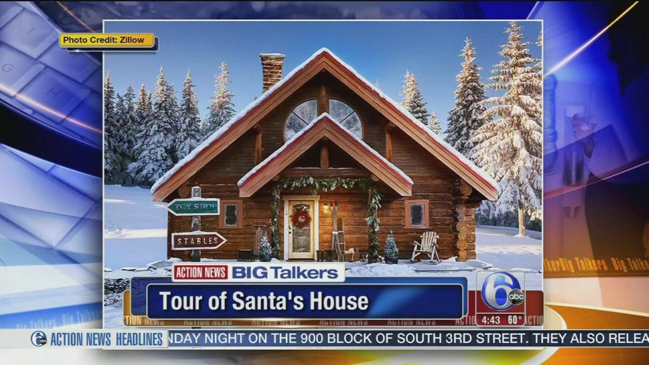 VIDEO: Take a sour of Santas home in the North Pole