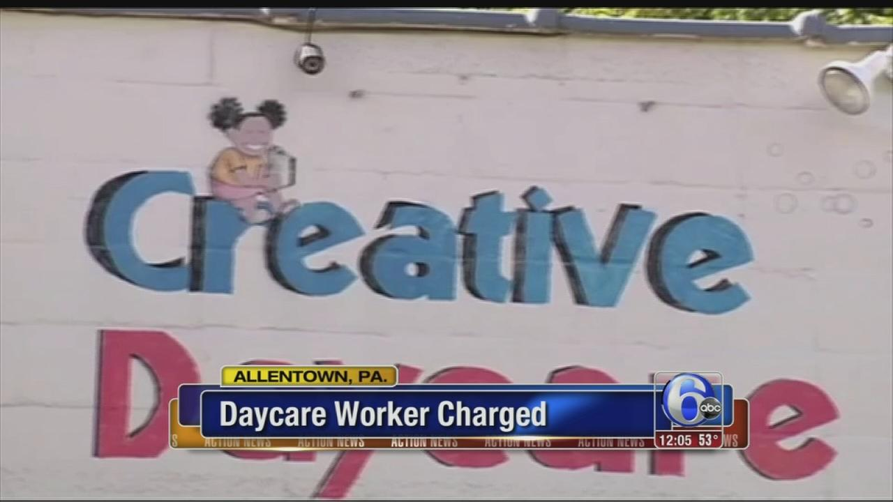 VIDEO: Daycare worker charged