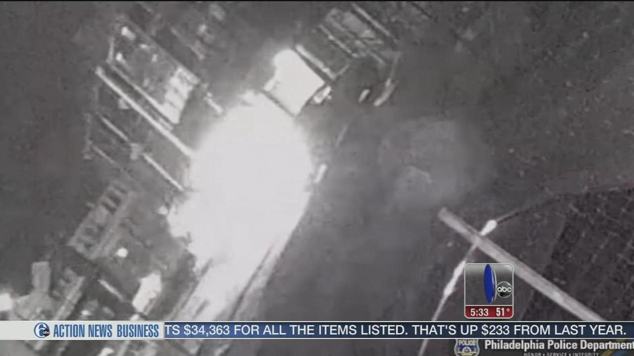 VIDEO: Arsonist search