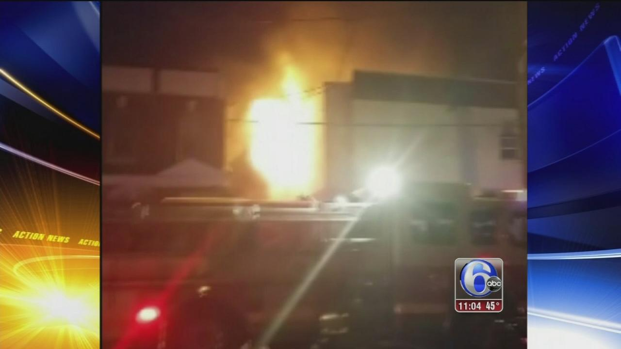 VIDEO: West Philly fire