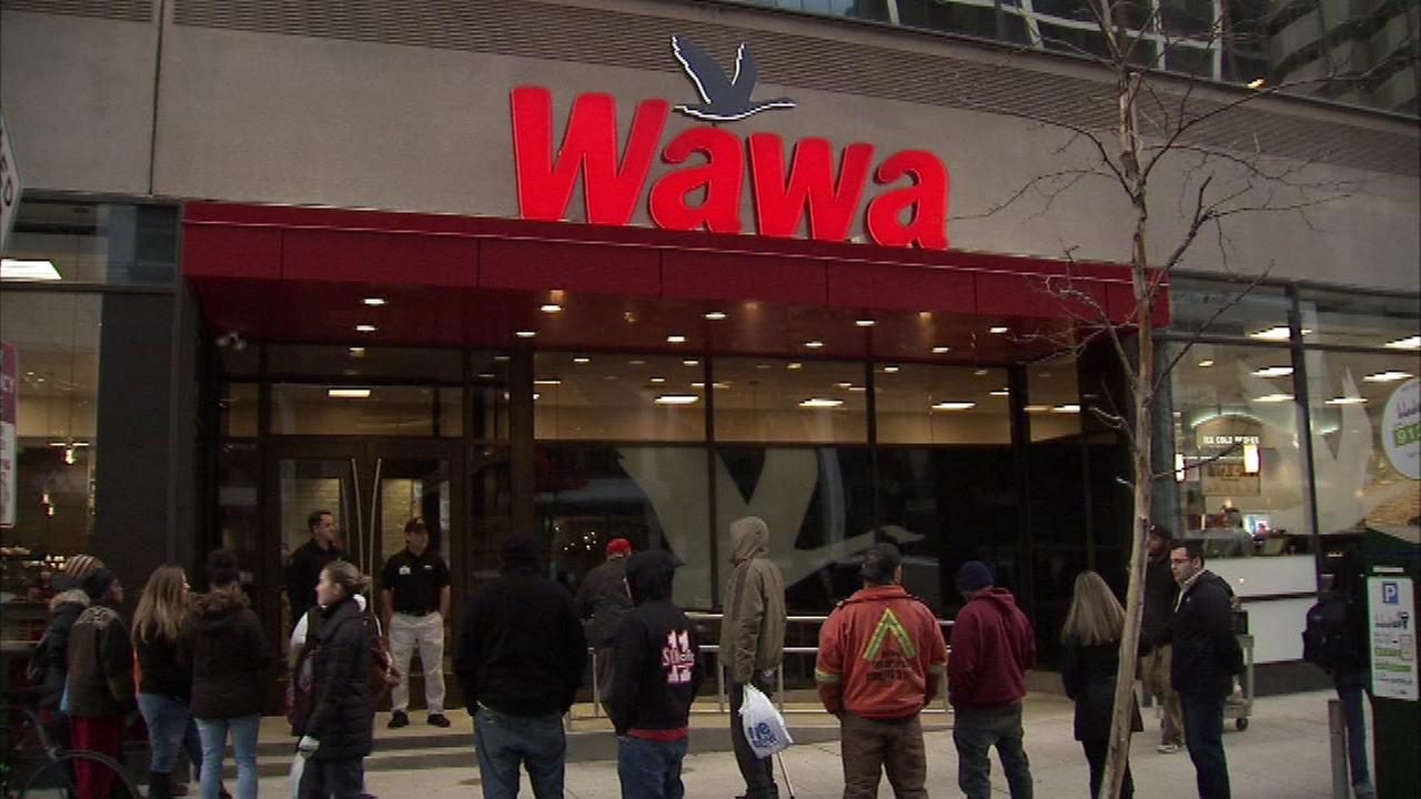 Take a look inside Wawas newest and largest location in Center City Philadelphia.
