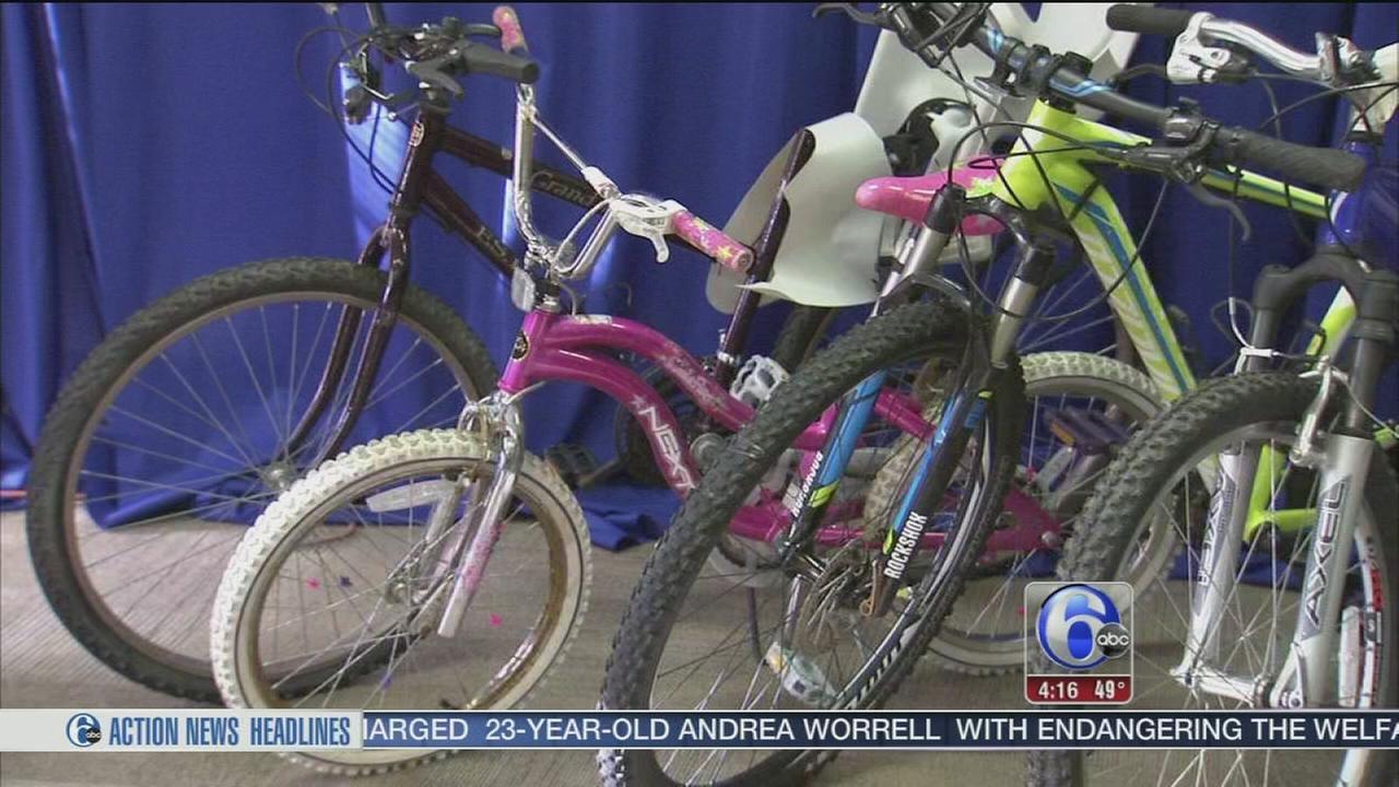 VIDEO: Police seek owners of stolen bikes in Camden