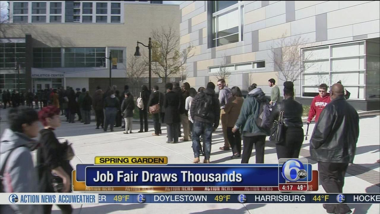 Job openings in Philadelphia