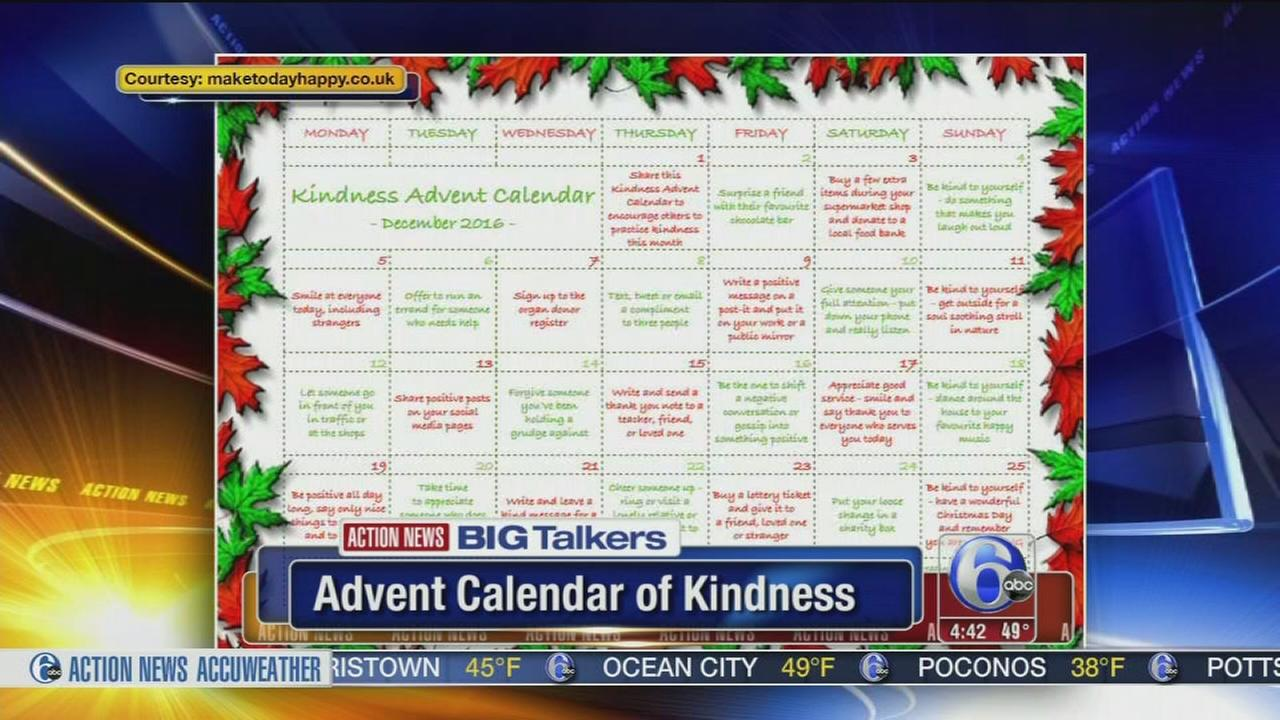 VIDEO: Kindness Advent Calendar