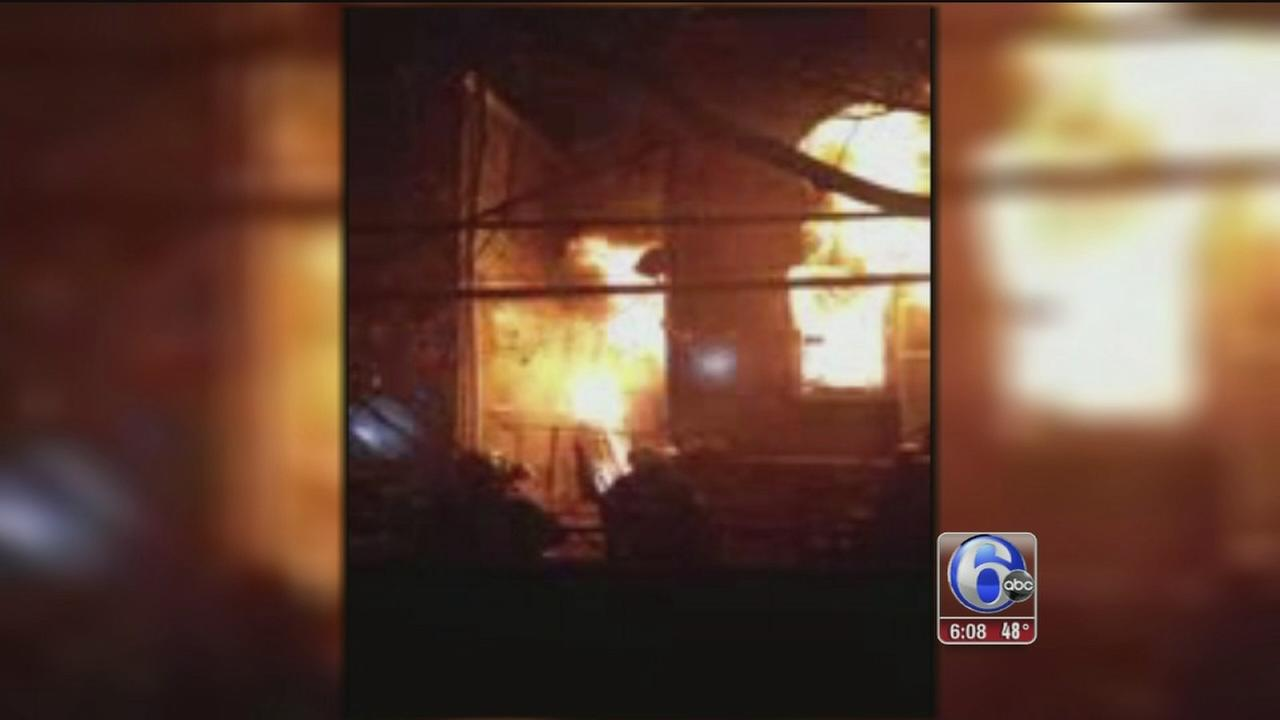 VIDEO: W Philly fire