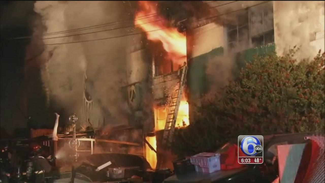 VIDEO: Fire tears through Oakland dance party, killing at least 9