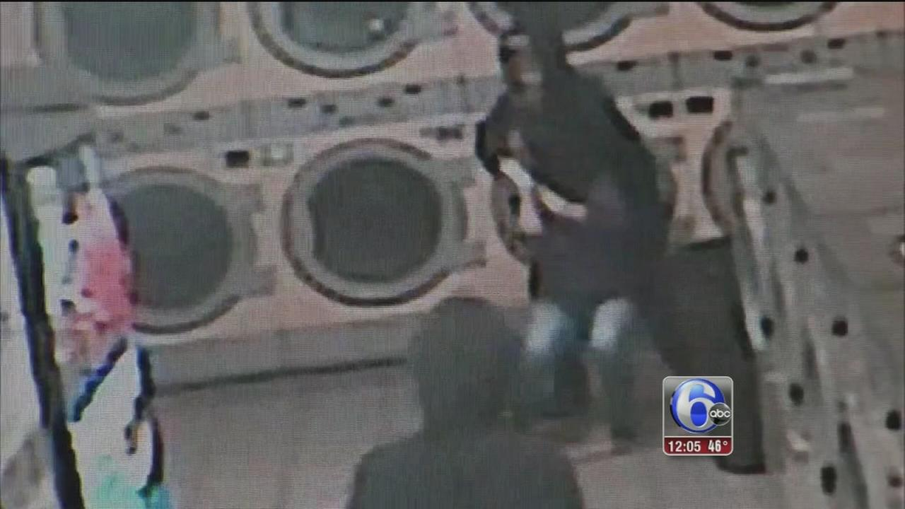 VIDEO: Woman terrorized in Upper Darby laundromat
