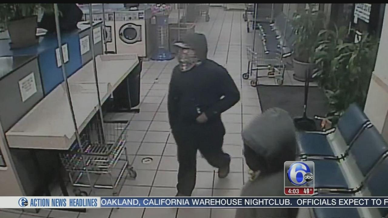 VIDEO: Woman terrorized in Upper Darby laundromat