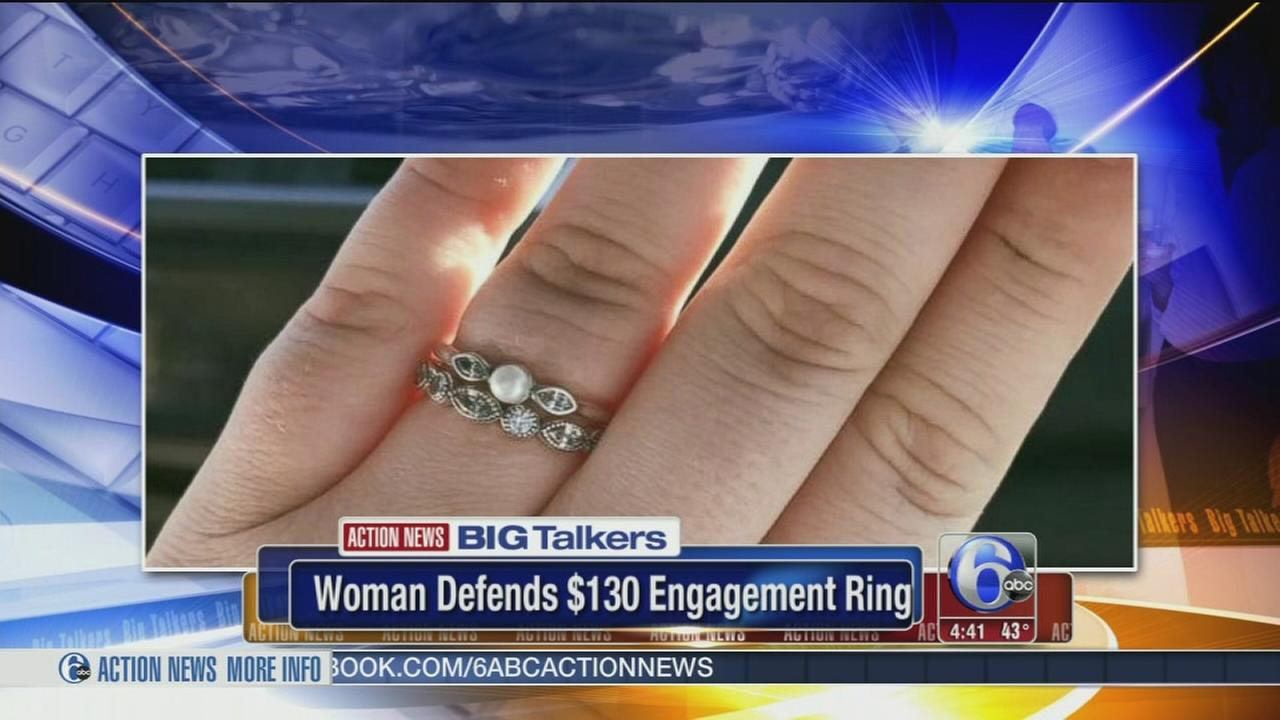 VIDEO: Woman defends engagement rings